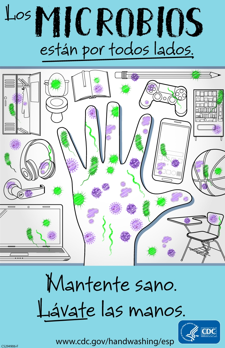 CDC Approved Stock Posters   Hand washing series (11x17)