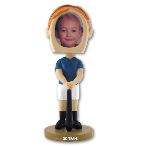 Girl\'s Softball Bobblehead