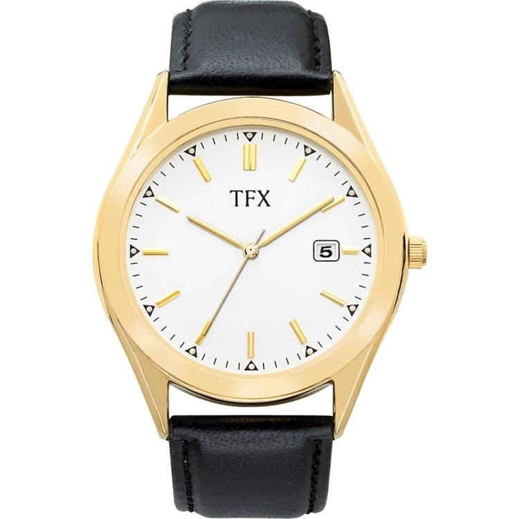 TFX by Bulova Men\'s Black Strap Watch