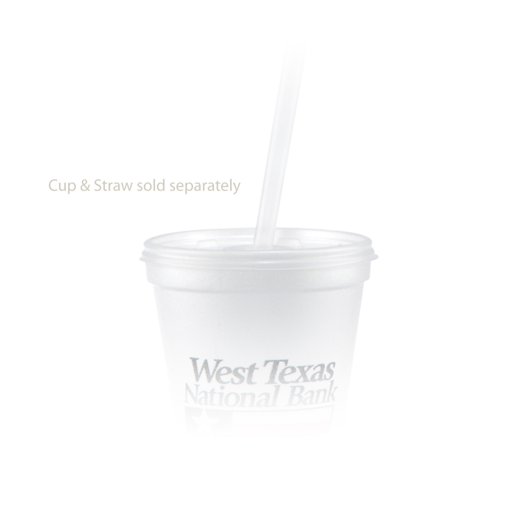 12/14 oz Straw Slot Lid - Frosted