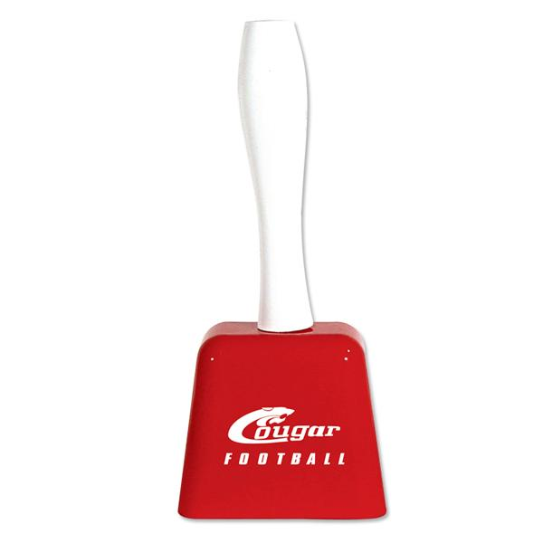 Cowbell with Handle - Red