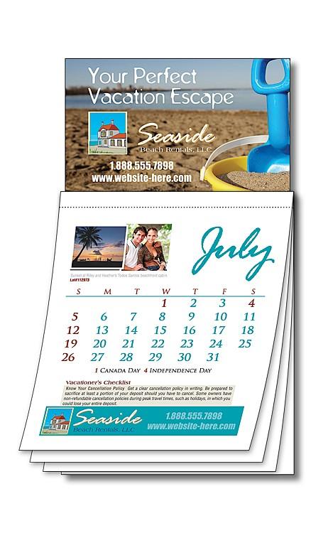Magna-Cal Business Card Magnet Calendar - Custom 3.5x6.25