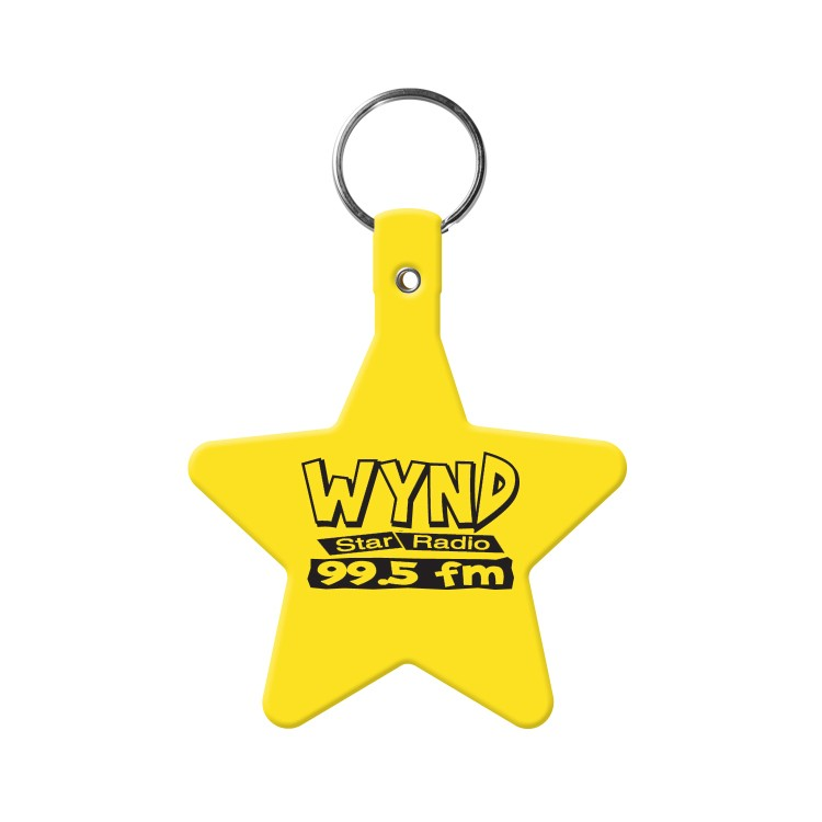 Star Flexible Key-Tag