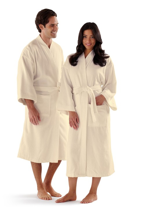 Basic Kimono Velour Bath Robe
