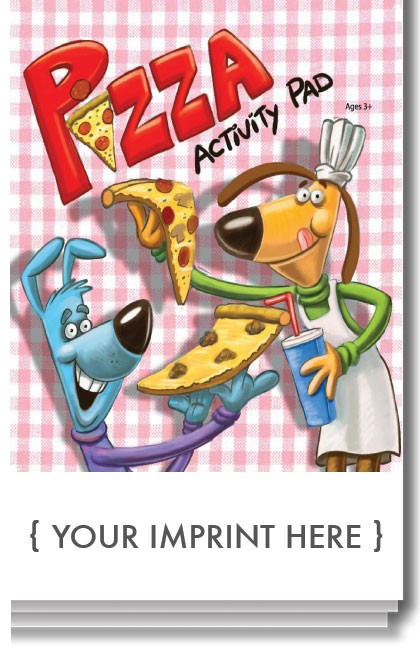 ACTIVITY PAD - Pizza Activity Pad