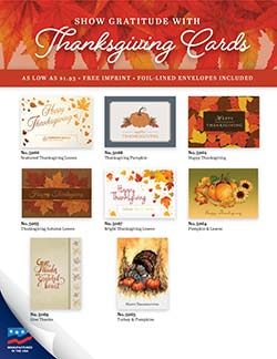 Thanksgiving Cards Flyer