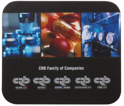 Mouse Pad 7 x 8 x 1/8 Full Color Soft Surface - Four Color Process Mousepad