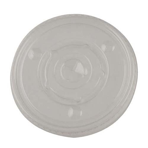 Translucent 12-24 oz. Straw-Slotted Lid