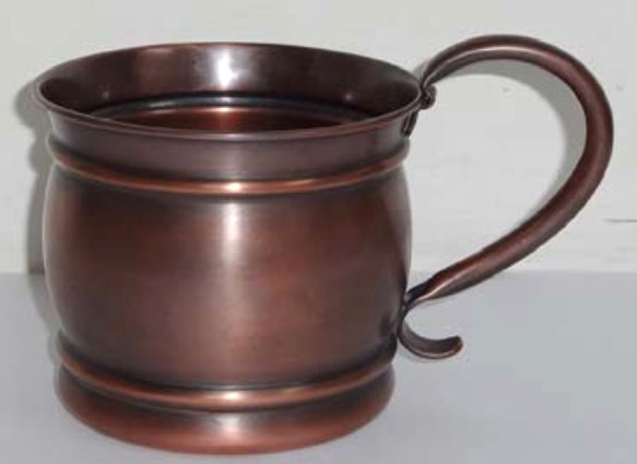 Antiqued Solid 20 oz. Copper Moscow Mule Mug