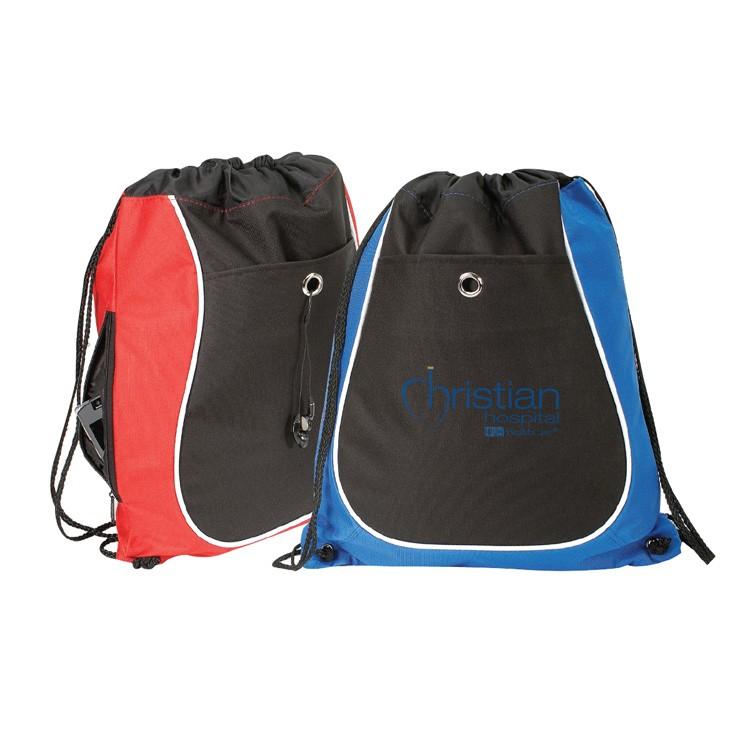 600D Polyester Drawstring Backpack