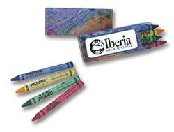 Prang Impressionist 4 Pack Crayons