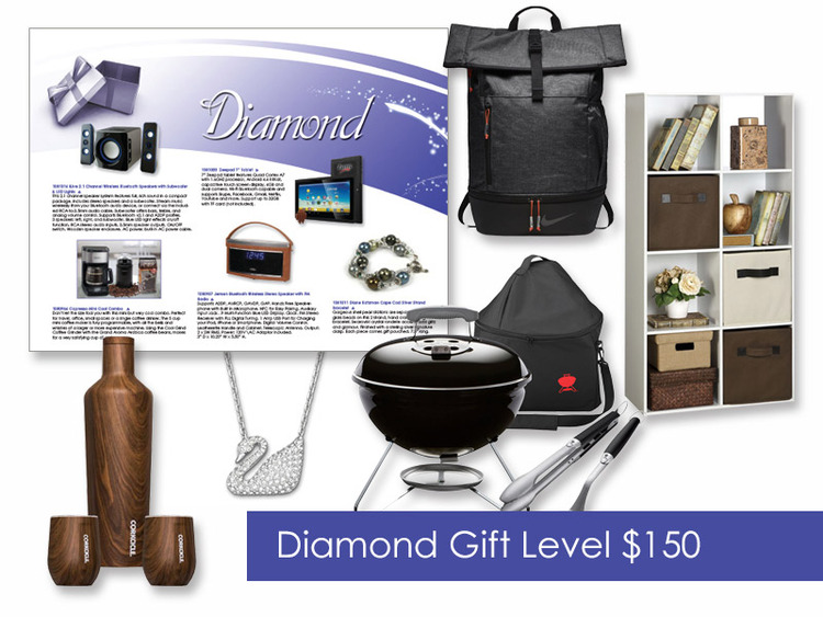 $150 Gift of Choice (Diamond Level) Gift Booklet