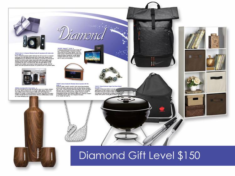 $150 Gift of Choice (Diamond Level) Gift Card