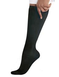Black Compression Knee High Socks / 1 Pair
