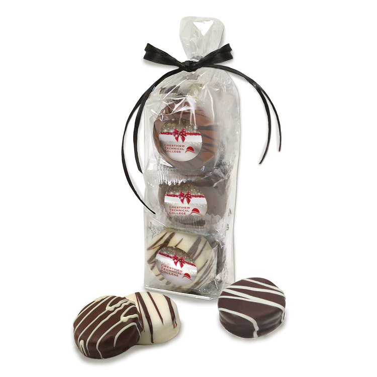 Emojoy Deluxe Chocolate Covered Oreos® Gift Bag