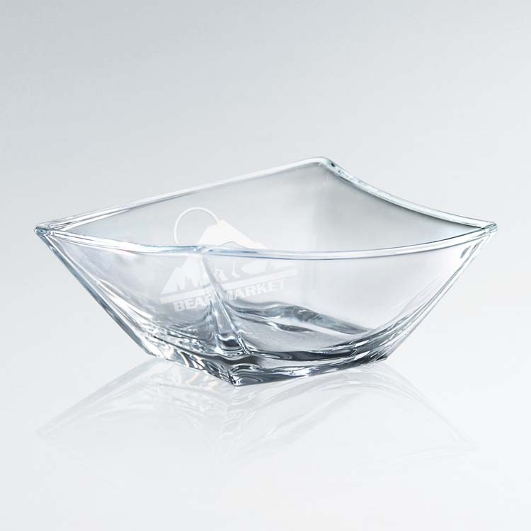 Artistic Skewed Glass Bowl (sml)