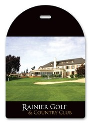 Laminated Full-Color Golf Tags 30 Mil