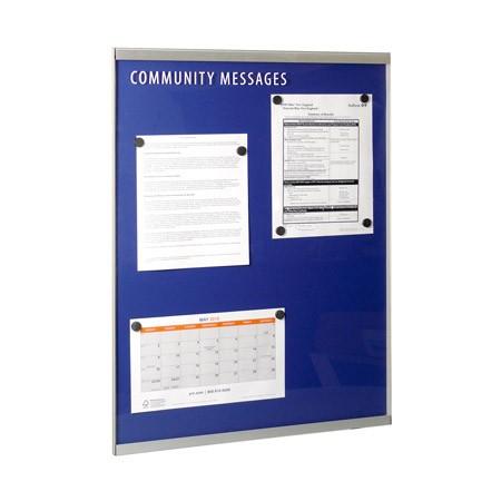 22w x 28h Metal Wall Community Message Board
