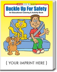 COLORING BOOK - Buckle Up for Safety Coloring & Activity Book - Coloring Book