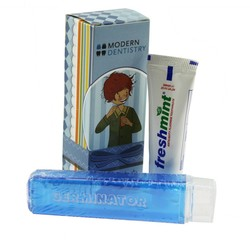 Travel Tooth Brush with Box and Small Toothpaste Kit