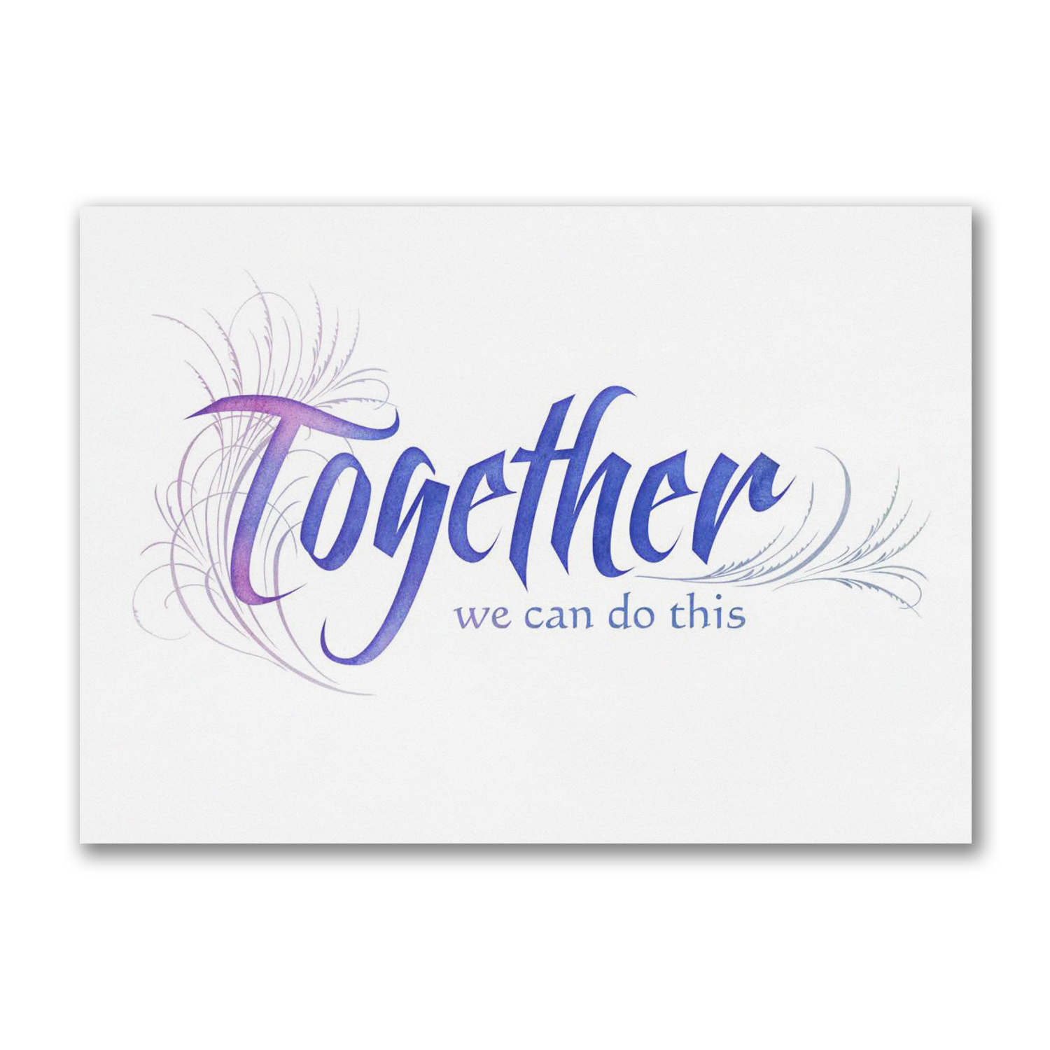 We Can Do This Greeting Card