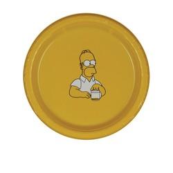 7 Plastic Plate - Yellow