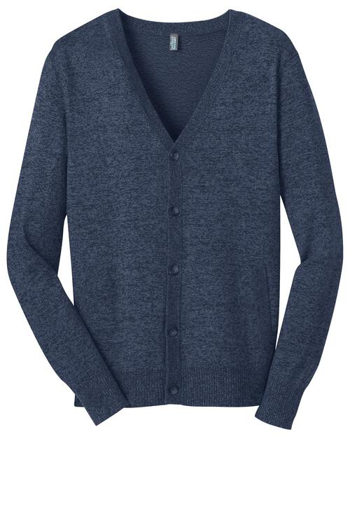 District Made - Mens Cardigan Sweater.