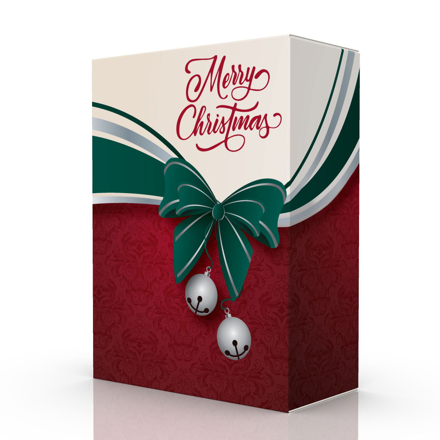 Merry Christmas gift box