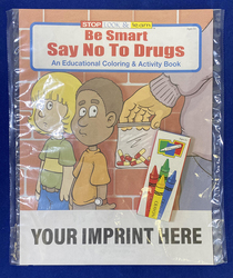 COLORING SET - Be Smart, Say NO to Drugs Coloring Book Fun Pack - Coloring Book Fun Pack
