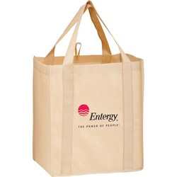 Non-woven Polypropylene Grocery Tote - Y2KG131015 - Silk Screened