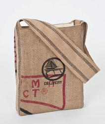 Java Recycled Jute Burlap Hippie Bag 11x3x13.5 - Java Recycled Jute Burlap Hippie Bag