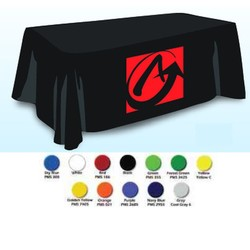 Throw Style 4-Sided Table Cover. Table Cloth.