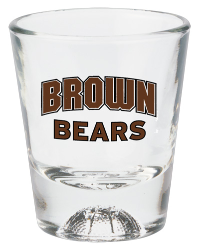 1-1/2 oz. Basketball Sports Shot Glass