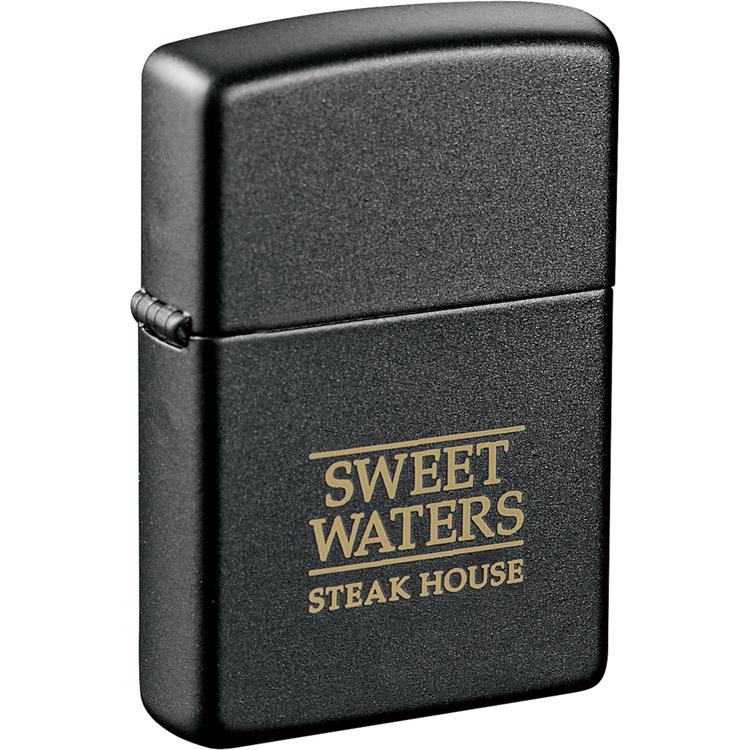 Zippo Windproof Lighter (Black Matte)