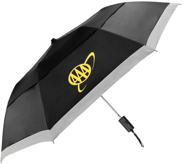 buy custom umbrellas logo safety promotions corporate gifts business