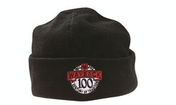 Beanie, Embroidered, Micro Fleece.