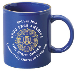 11 oz. Midnight Blue Stoneware Mug