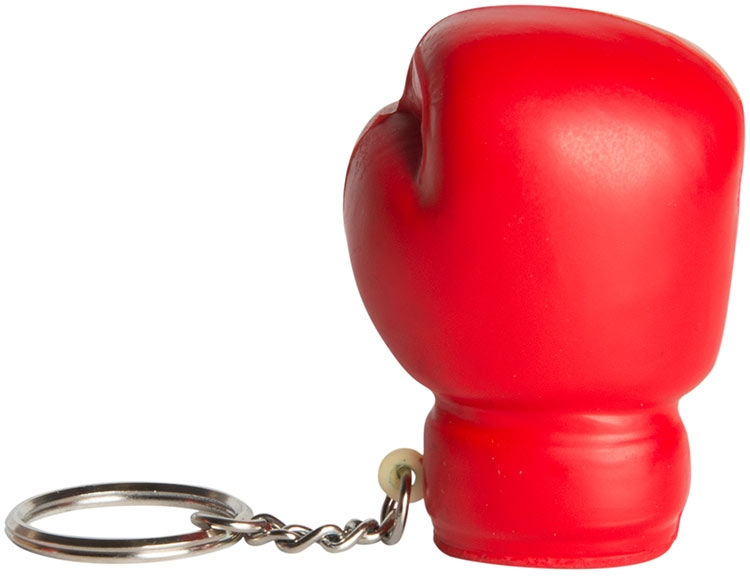 Boxing Glove Squeezies Stress Reliever Keyring