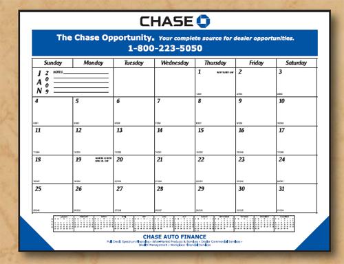 The Economy Line Desk Calendar