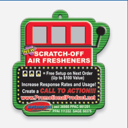 Scratch & Win Air Freshener