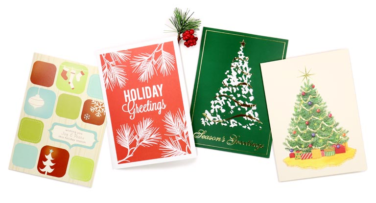 Christmas cards with your company logo
