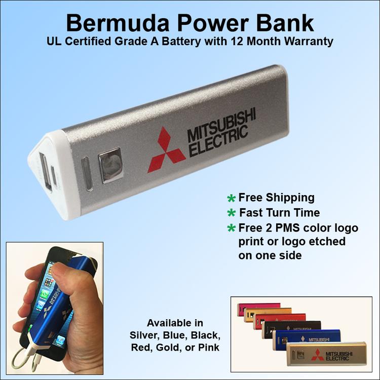 Bermuda Power Bank 1800 mAh - Bermuda Power Bank 1800 mAh