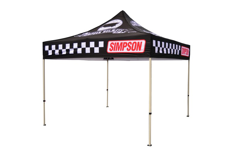 10x10 Pro Grade Steel Pop Up Canopy with 600 Denier Polyester Dye Sublimated Top
