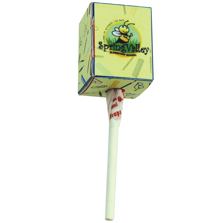 Dum Dum Pop with Four Color Printed Box