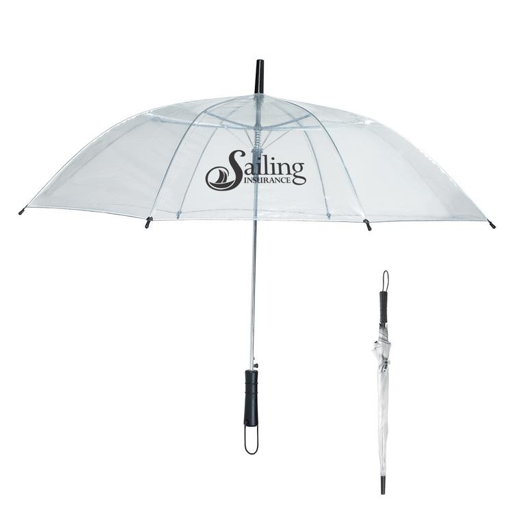 46 Arc Clear Umbrella