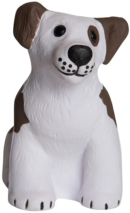 Sitting Dog Squeezies Stress Reliever