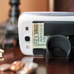 Phone Wallet Stand