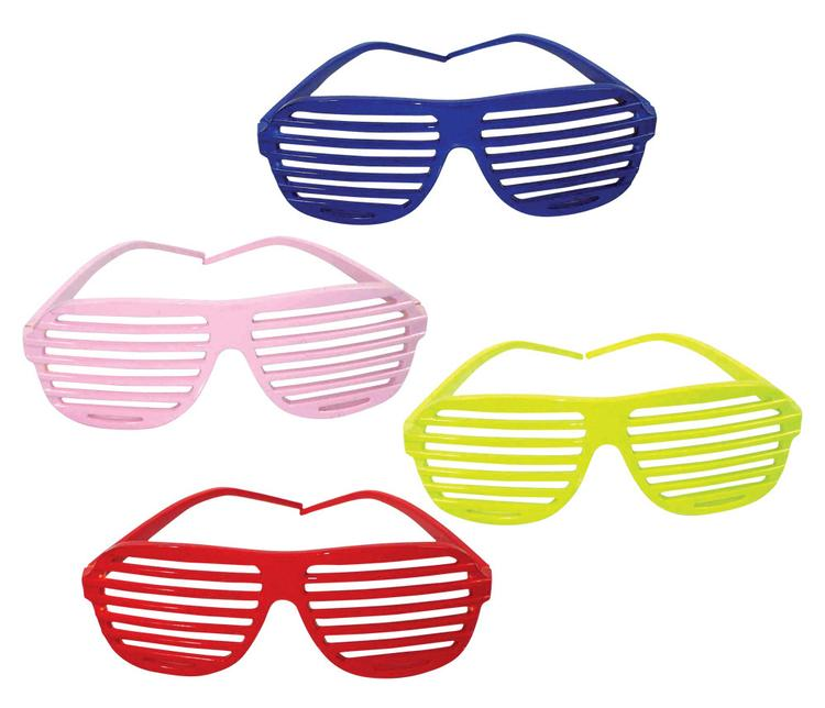 Slotted Sunglasses In Colors