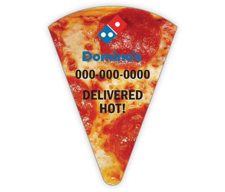 Domino's Pizza Slice Magnet - Pepperoni