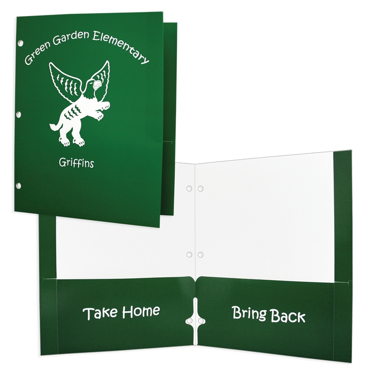 Reinforced Edge School Folders